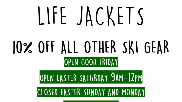 Easter Ski Gear Sales Continues!