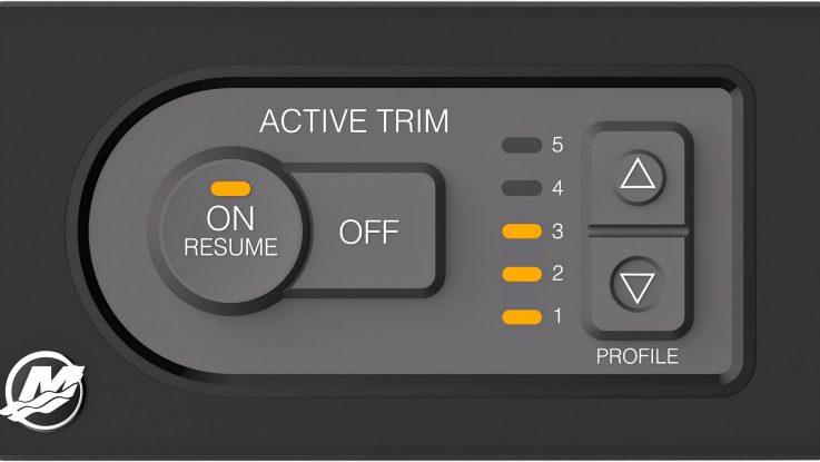 New Mercury Active Trim –  Revolutionises trimming your boat