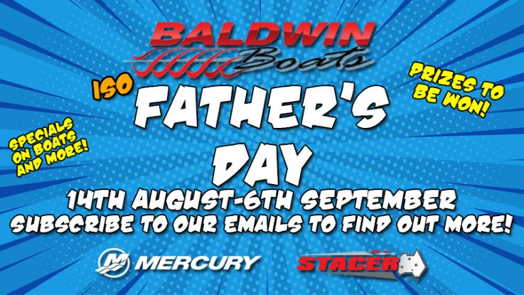 Baldwin Boats ISO Father's Day! -WIN PRIZES